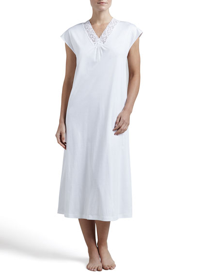 Moments Cap-Sleeve Gown