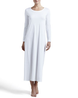 Hanro Tonight Long-Sleeve Gown