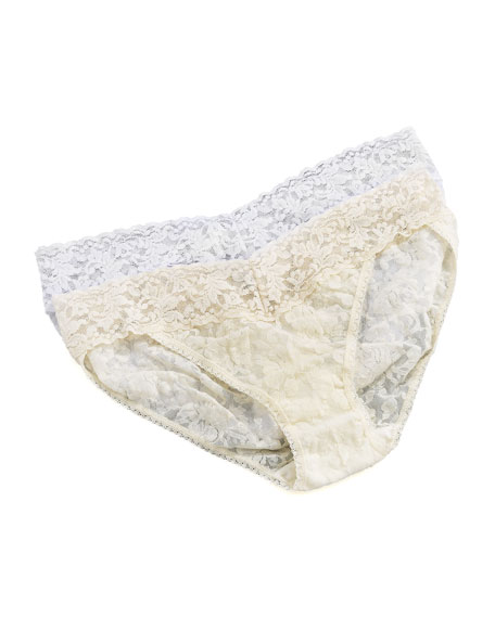 Signature Lace V-Kini Briefs