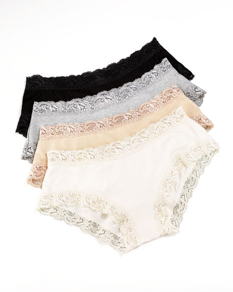 "Top Drawer ""Perfect Panty"" with Lace Trim"