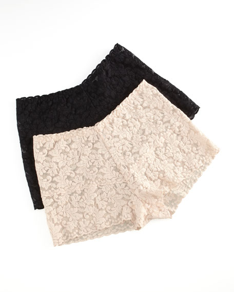 Signature Lace Retro Hotpants