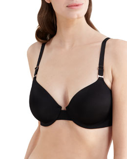Spanx Bra-llywood Hills Side-Slimming Bra, Black