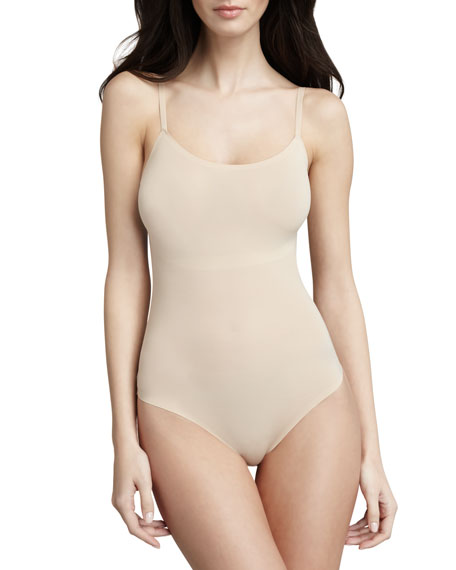 Perfect Fit T Shirt Wherever You Find Love It Feels Like: Spanx Trust Your Thinstincts Thong Bodysuit, Natural