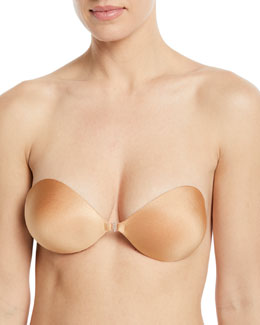 Fashion Forms Seamless Push-Up Bra, Nude