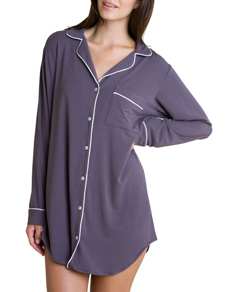 Gisele Sleepshirt, Gray