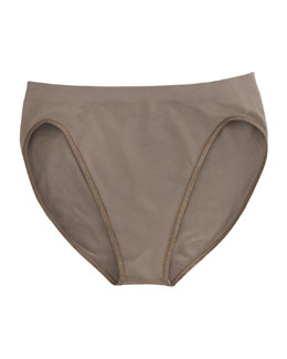 Hanro Touch Feeling High-Cut Briefs, Fossil