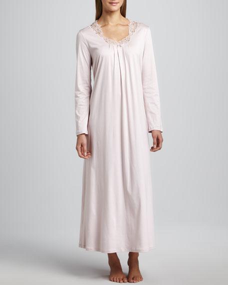 Amelia Long-Sleeve Gown