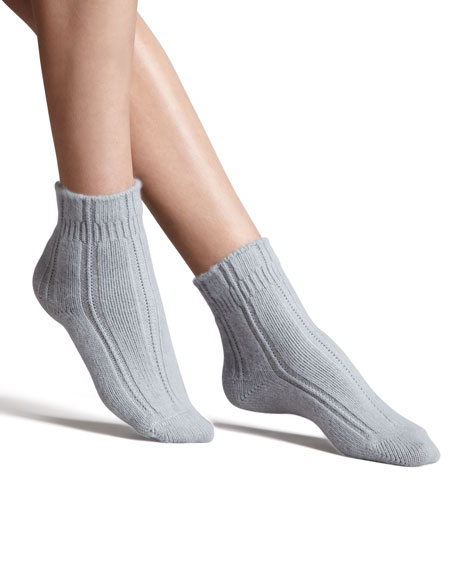Cozy Bedsocks, Gray