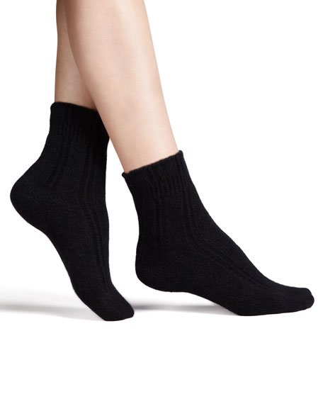 Cozy Bedsocks, Black