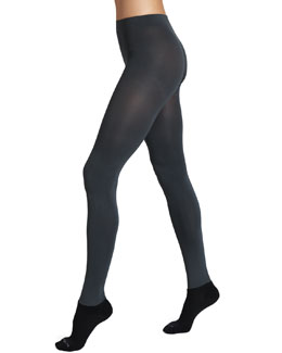 Bootights Luxe Semi-Opaque Tights, Gray