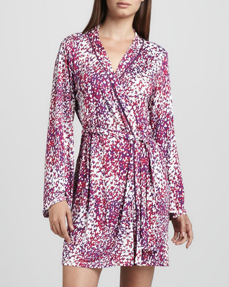 Bella Butterfly-Print Robe
