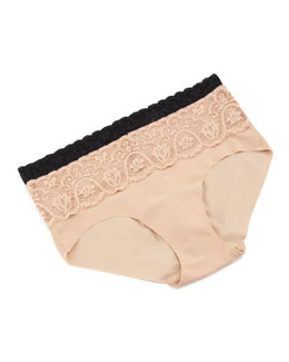 Commando Tulip Lace Bikini Brief