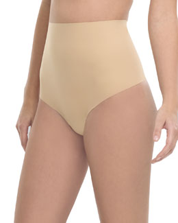 Commando Control Cotton Thong, True Nude