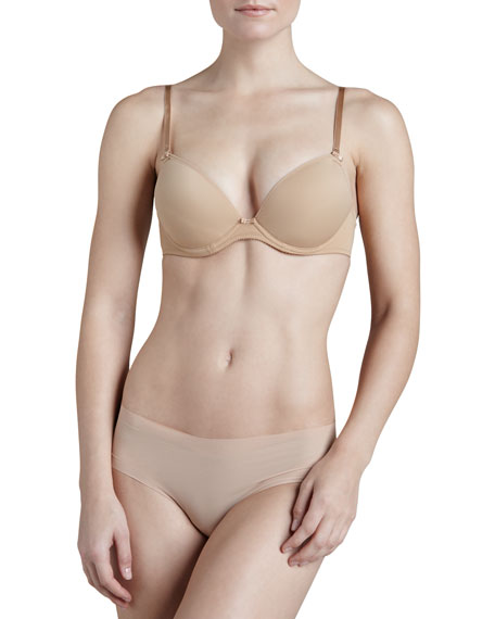 Invisible Plunge Push-Up Convertible Bra