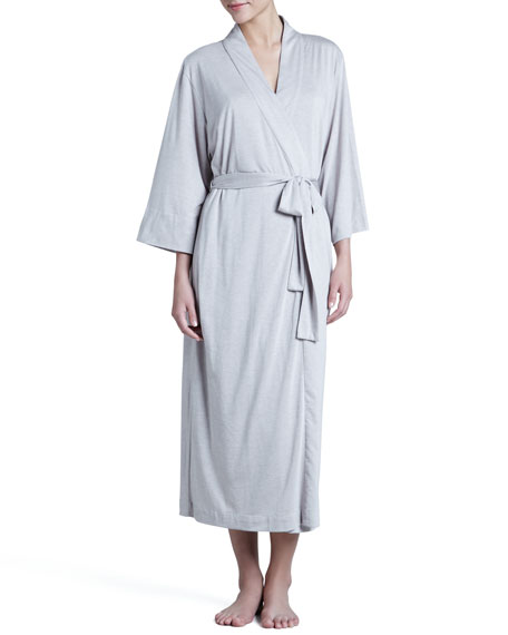 Zen Long Jersey Wrap Robe