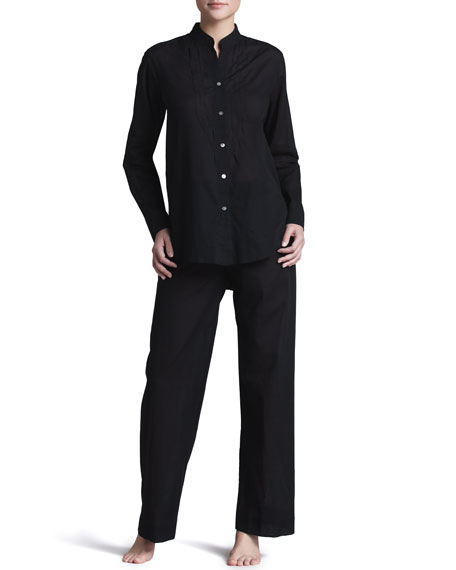 COTTON BATISTE PJ- Black