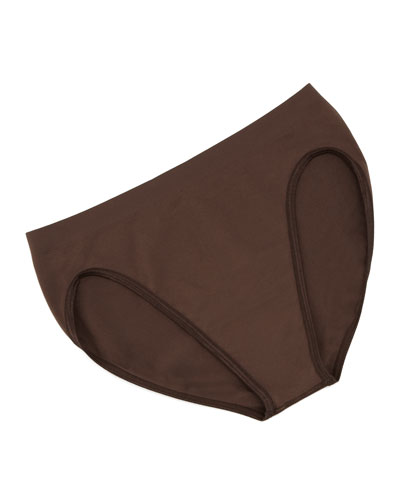 Hanro Touch Feeling High-Cut Briefs, Chocolate