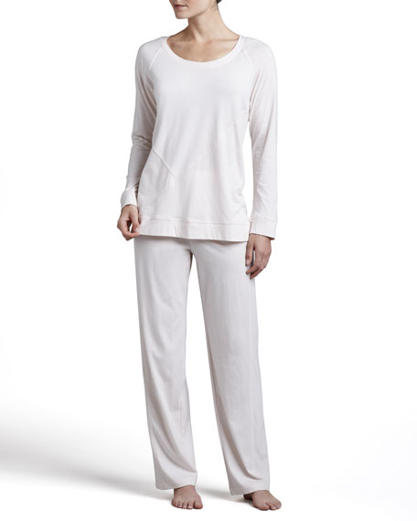 Pima Cotton Pajamas, Blossom Pink