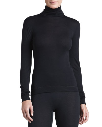 Hanro Silk-Cashmere Turtleneck