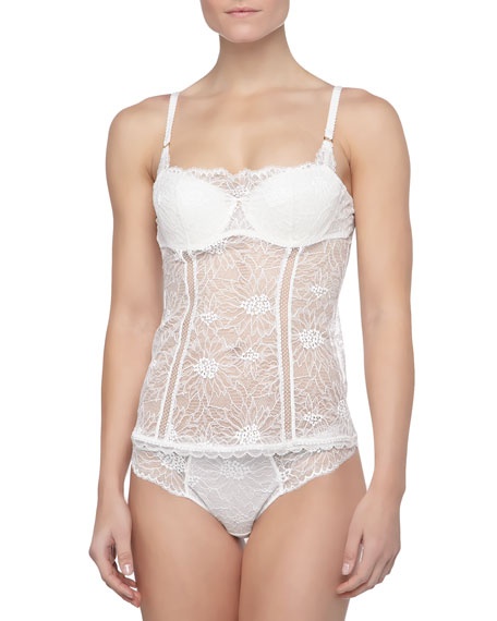 Opera Lace Bustier-Style Camisole