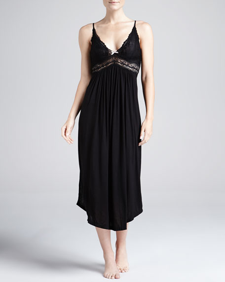 Colette Lace-Bodice Gown