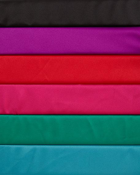 Charmeuse Hi-Lo Monogram Sleepshirt