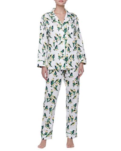 Bedhead Cabana Birds Sateen Pajamas