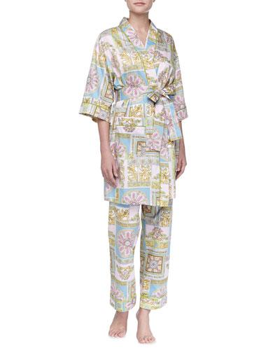 Bedhead Ciao Bella Sateen Kimono Robe