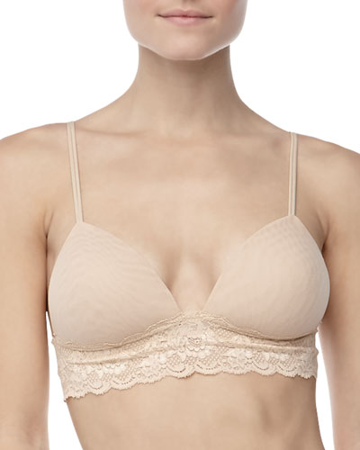 Never Say Never Softie Padded Bra, Blush
