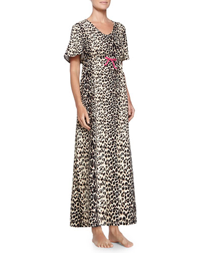 Wild Thing Caftan, Black/Tan