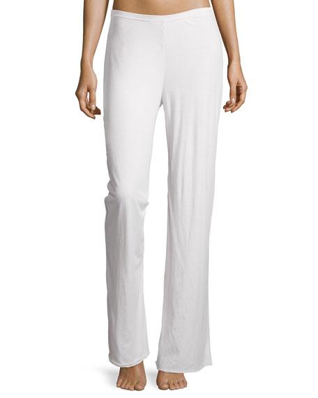 Skin Double-Layer Jersey Pants, Powder