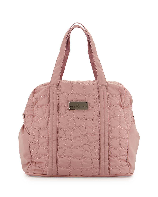 adidas by Stella McCartney Quilted Tech-Fabric Essential Gym Bag ... 2a9738520a901