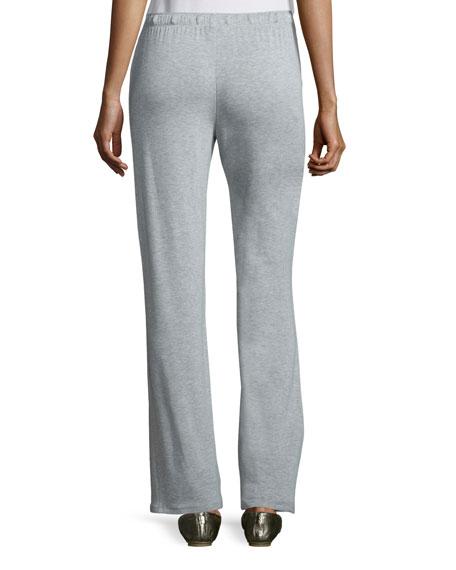 Knit Lounge Pants W/Drawstring