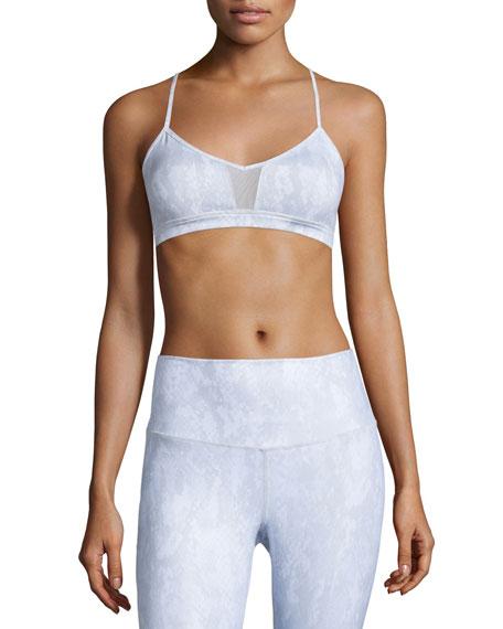 Alo YogaGoddess Mesh-Panel Sports Bra