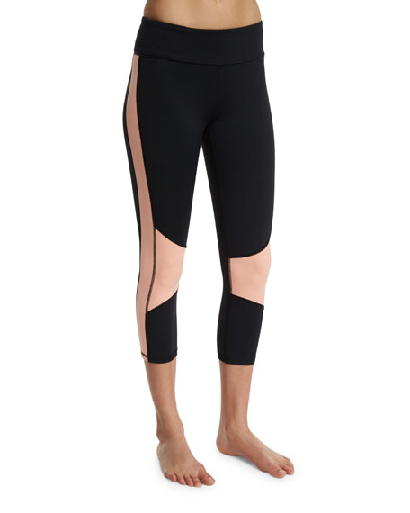 Alala Blocked Cropped Sport Leggings