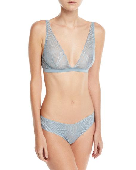 Minoa Low-Rise Lace Thong