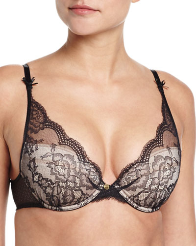 Présage Push-Up Bra, Black