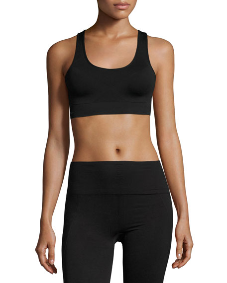 Alala Crusade Sports Bra, Black