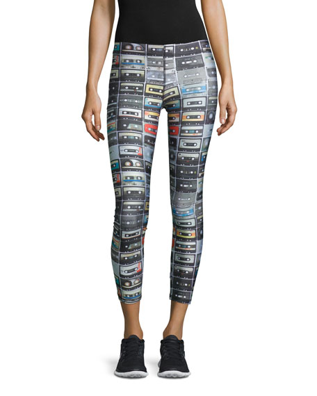 Mix Tape Performance Leggings