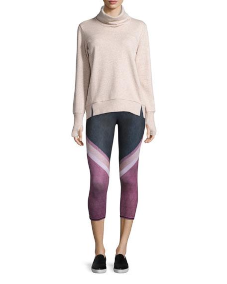 Haze Long-Sleeve Turtleneck Sweatshirt