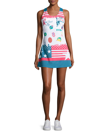 Fila MB Court Central Dress, Multicolor