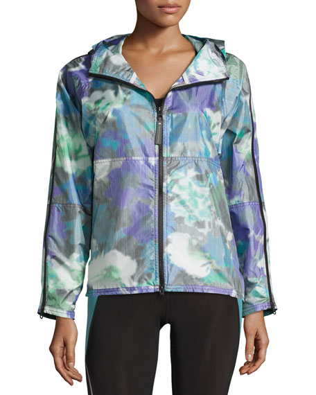 Bloom Running Jacket, Power Purple
