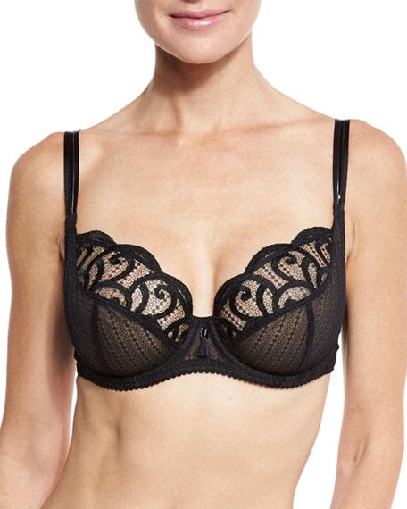 Maison Lejaby Roxane Full-Cup Bra & Bikini Briefs