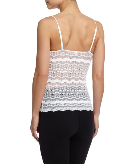 Ceylon Long Chevron Lace Camisole