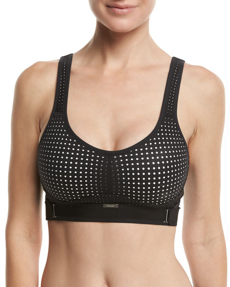 Chantelle Medium-Impact Wireless Sports Bra, Multi Pattern
