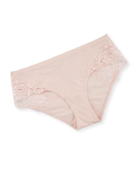 La Perla Souple Lace Mid-Rise Briefs
