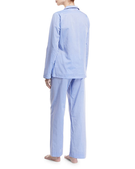 Image 2 of 2: Amalfi Piped Pajama Set