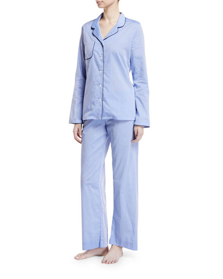 Image 1 of 2: Amalfi Piped Pajama Set
