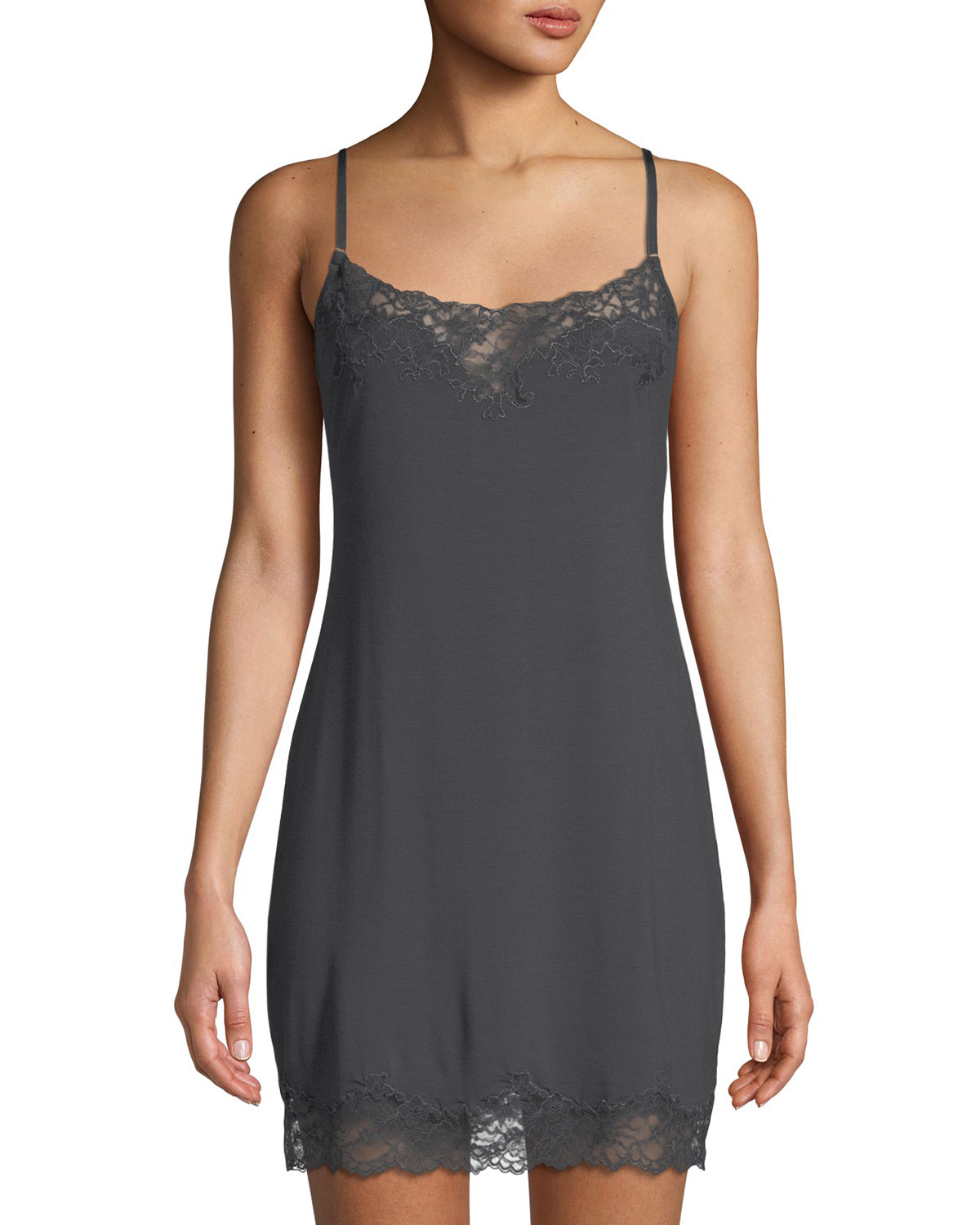 262b99c03a Josie Natori Undercover Lace-Trimmed Chemise and Matching Items ...