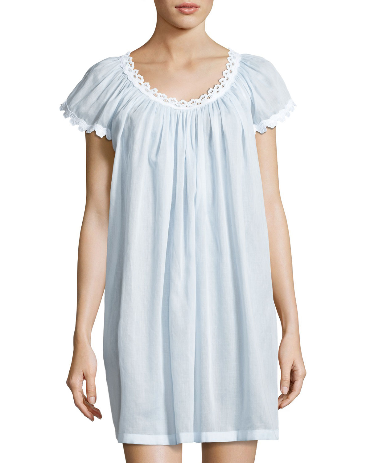 Celestine Jule Cap-Sleeve Short Nightgown 6a9f1d63e